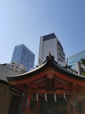 東京都豊栄稲荷神社の写真