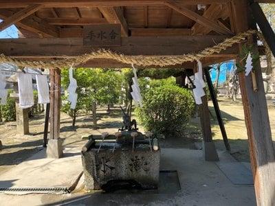大神神社(愛知県妙興寺駅) - 手水舎の写真