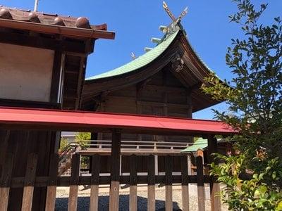 大神神社(愛知県妙興寺駅) - 本殿・本堂の写真