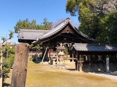 大神社の本殿
