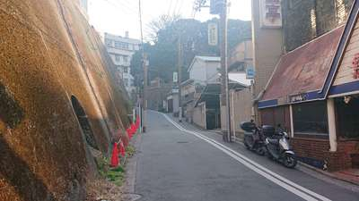 諏訪大神社の周辺
