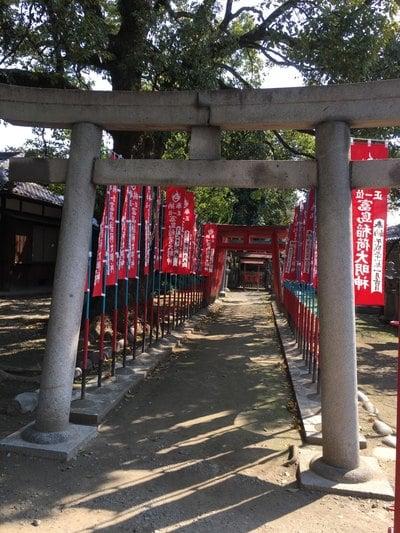 真清田神社(愛知県名鉄一宮駅) - 鳥居の写真