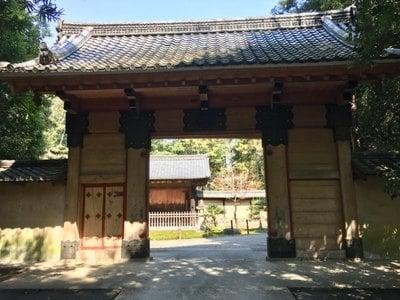 愛知県妙興報恩禅寺(妙興寺)の山門