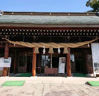 熊本県熊本県護国神社の本殿