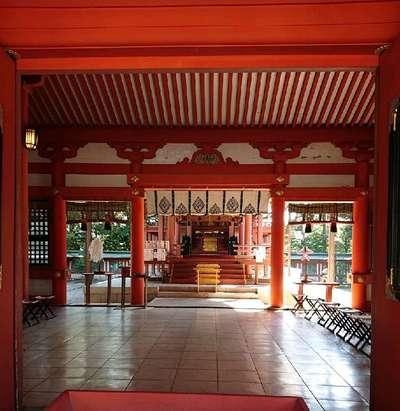 熊本県藤崎八旛宮の本殿