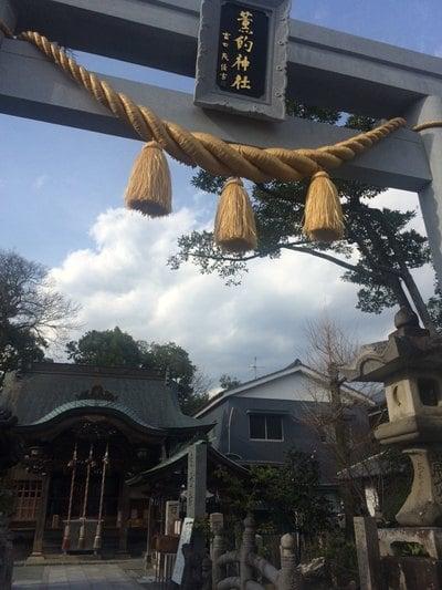 高知県薫的神社の鳥居