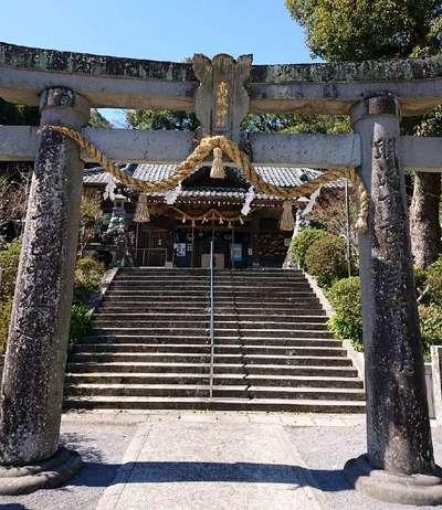 長崎県高城神社の鳥居