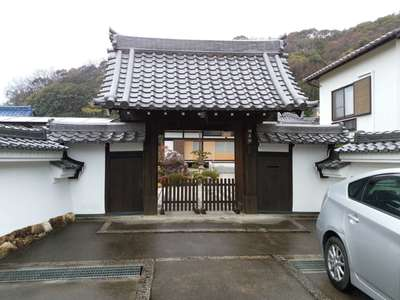 開善院(岐阜県田神駅) - 山門・神門の写真