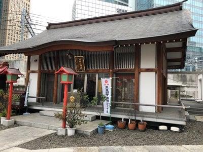 東京都日比谷神社の本殿