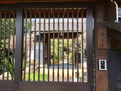 愛知県西住院の山門