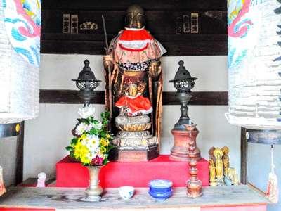 金鳳山 正法寺の地蔵