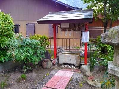 林稲荷神社の手水