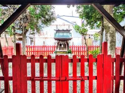 金鳳山 正法寺の近くの神社お寺|林稲荷神社