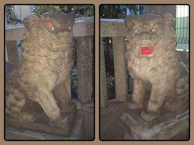 三光稲荷神社の狛犬