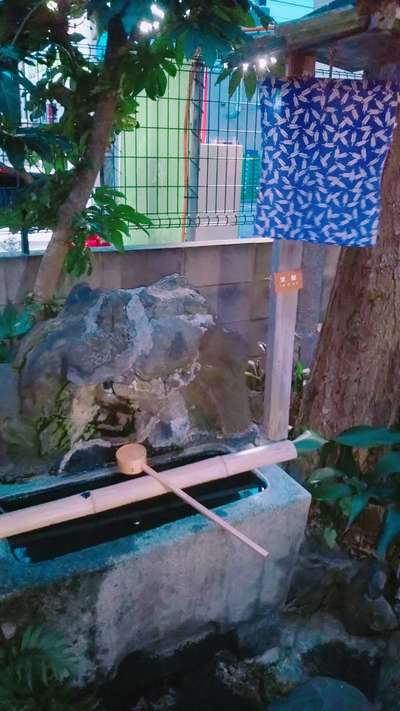 三光稲荷神社の手水