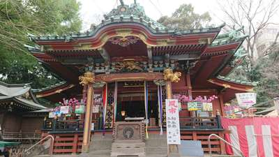 東京都王子稲荷神社の本殿
