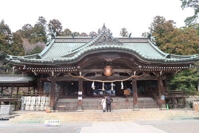 茨城県筑波山神社の本殿