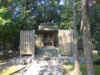 愛知県大御霊神社の本殿