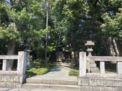 愛知県大御霊神社の写真