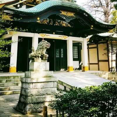 東京都王子神社の本殿