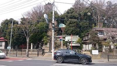 富塚八幡宮の周辺