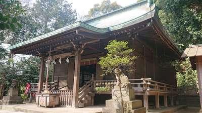 富塚八幡宮の本殿