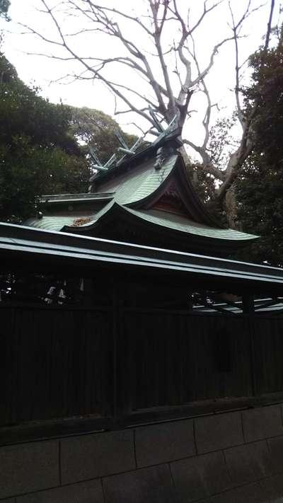 茨城県八幡神社の本殿
