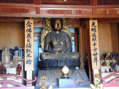 岐阜県大日山 観昌院 美江寺の仏像