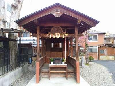 岐阜県北野神社の本殿