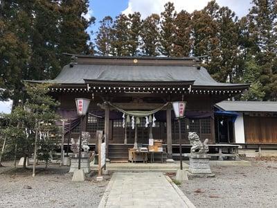 福島県鹿島神社の本殿