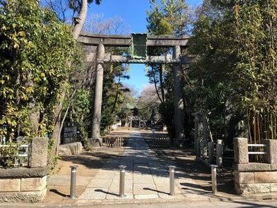 東京都篠崎浅間神社の本殿