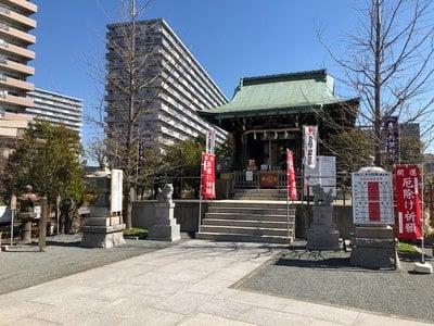 東京都亀戸浅間神社の本殿