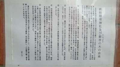 東京都商和稲荷神社の写真
