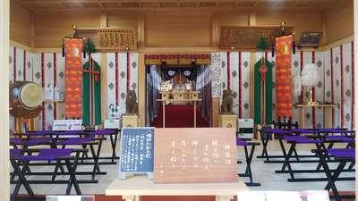 埼玉県糀谷八幡神社の本殿