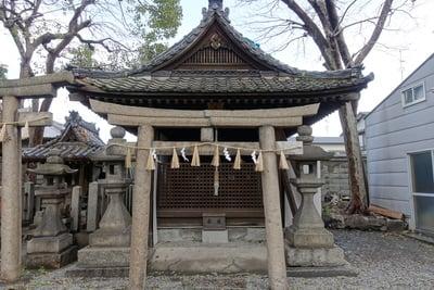 生根神社(大阪府住吉駅) - 鳥居の写真