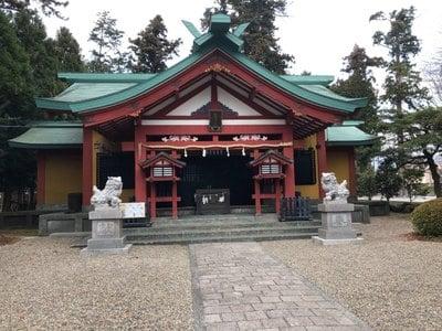 静岡県新橋浅間神社の本殿