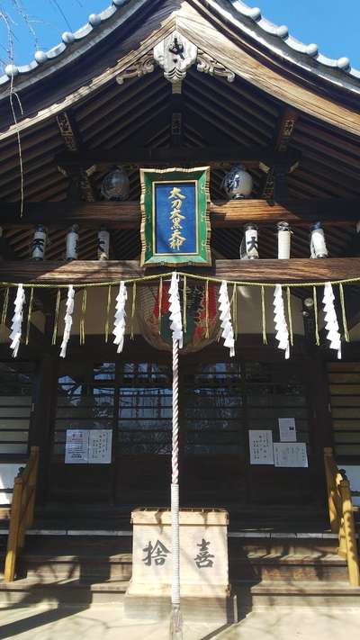 千葉県弘法寺の本殿