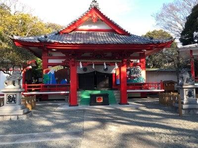 静岡県米之宮浅間神社の本殿