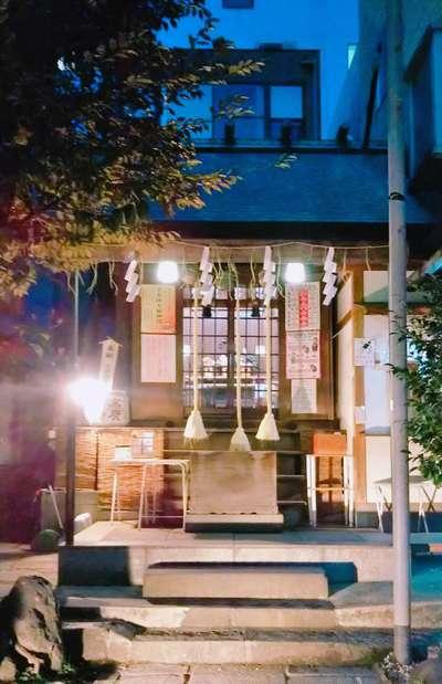 末廣神社の本殿