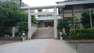 東京都芝大神宮の鳥居