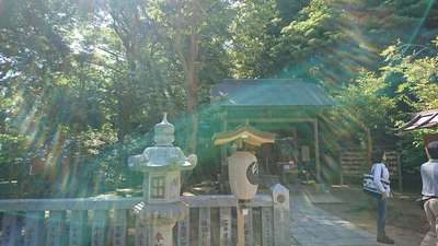 神奈川県葛原岡神社の本殿