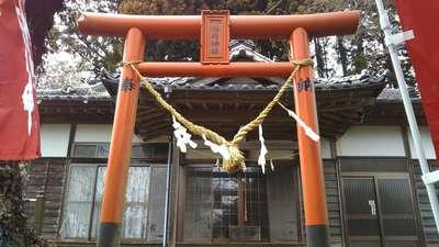 茨城県正一位稲荷神社の鳥居