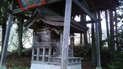 茨城県正一位稲荷神社の本殿