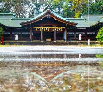 香川県香川県護国神社の写真