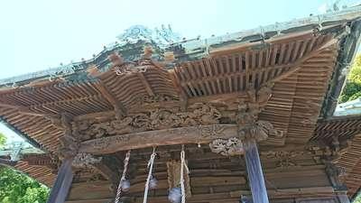叶神社の本殿
