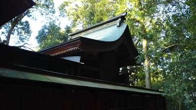 茨城県赤城神社の本殿