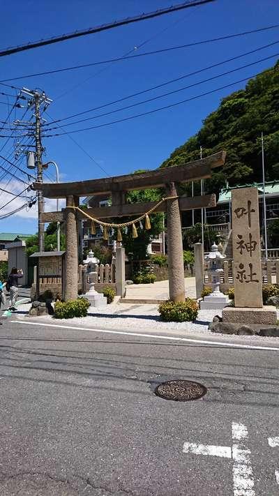 神奈川県叶神社の鳥居
