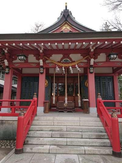 埼玉県香取神社の本殿