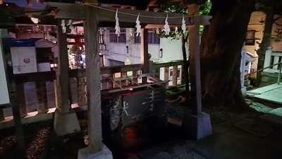 元町厳島神社の手水
