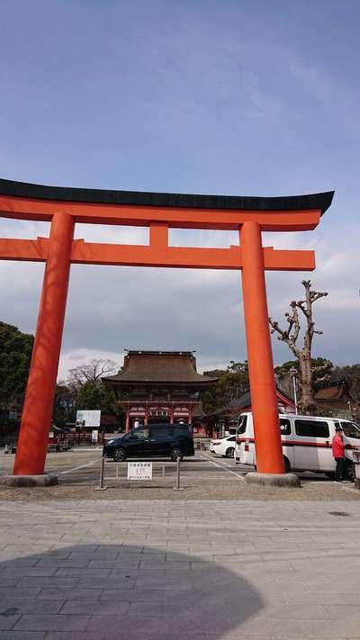 愛知県津島神社の本殿